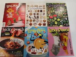 Lucky Peach Magazine Complete Full Set 2011-2017, 24 issues