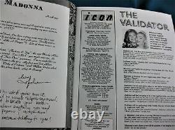 MADONNA ICON MAGAZINE Vol 2 Issue 3 1992 OFFICIAL FAN CLUB
