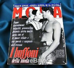 MADONNA MODA ITALIAN MAGAZINE MARCH 1991 COMPLETE SUPER RARE No Promo