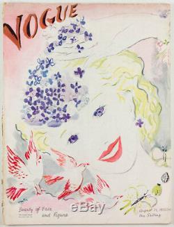 MARCEL VERTES Cecil Beaton ART DECO INTERIORS FASHION Vogue magazine August 1935