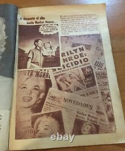 MARILYN MONROE Cover & Photo Comic 1962 MEXICO MAGAZINE Special Issue #1