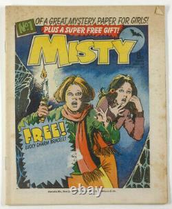 MISTY COMIC comic No. 1 magazine February 4 1978 Pat Mills JOHN ARMSTRONG vtg 1st