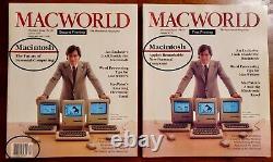 MacWorld Magazine Premier Issue, 1984 True First Printing Steve Jobs Apple