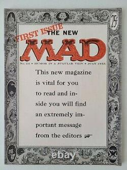 Mad Magazine #24 July 1955 1st Mag issue 1st What Me Worry