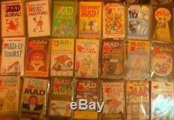 Mad comic Magazine 90 paperback collection many originals and 1st editions