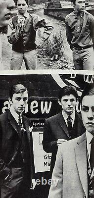 Marc Bolan MARK FELD by DON McCULLIN vtg British 1960's fashion magazine TOWN UK