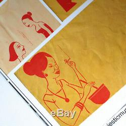 Margaret Kilgallen Posters Publication 2005 Out Of Print Rare