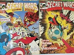 Marvel Super Heroes. Secret Wars No's 1-31. (24 Issue Run). Marvel Uk Magazine