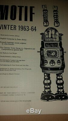 Motif Magazine No. 11, 1963-4, Ruari McLean, Eduardo Paolozzi Cover, Very Rare