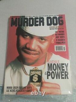 Murder Dog Magazine JUVENILE LIL WAYNE CASH MONEY MAC DRE X-RAIDED RARE OOP