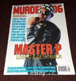 Murder Dog Magazine MASTER P NO LIMIT C-MURDER EAZY-E MESSY MARV RARE OOP