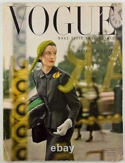 NORMAN PARKINSON Wenda BEAUTY Decoration FASHION Vogue magazine 1 October 1949