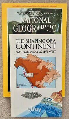 National Geographic June 1985 Monthly Issues withSupp LIKE NEW MINT CONDITION
