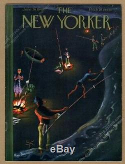 New Yorker magazine June 26 1948 Shirley Jackson The Lottery 1st print edition