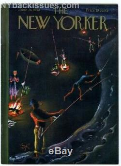 New Yorker magazine June 26 1948 Shirley Jackson The Lottery first edition NM