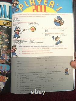 Nintendo Power 1 First Issue 1988 Complete with Zelda Map All Inserts Must See