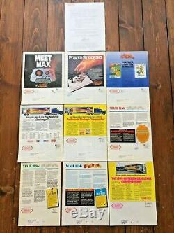 Nintendo Power Flash Magazines 1988-90, All Issues 1 to 9 + Chief Editor Letter