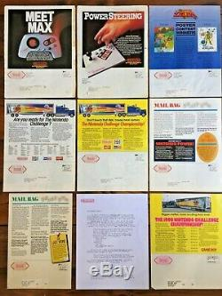 Nintendo Power Flash Magazines 1988-90, Issues 1 to 7 + 9 + Chief Editor Letter