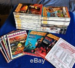 Nintendo Power/Fun Club Magazines 88-'99 (Lot of 98) Includes Rare Vols. 1 & 2