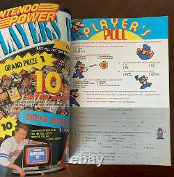 Nintendo Power Issue #1 with Rare Letter, Sticker, Inserts LIKE NEW