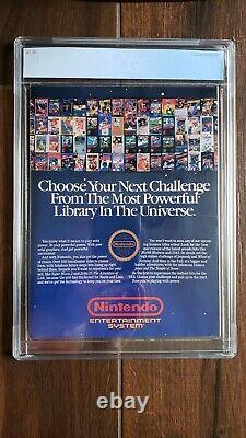 Nintendo Power July/August 1988 1st Issue CGC Graded 8.5 White (Only 8 Higher!)