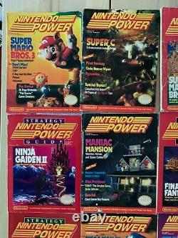 Nintendo Power Magazine 1-31 + Fun Club News Lot Official Player's Guide, more