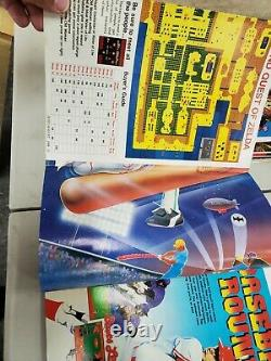 Nintendo Power Magazine #1 First Issue With Poster July/August 1988