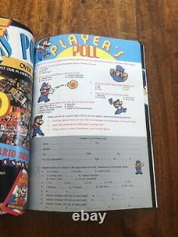 Nintendo Power Magazine First Issue July/Aug 1988 Volume 1 With Poster & Mailers