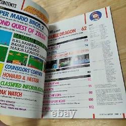 Nintendo Power Magazine Issue 1 July/August 1988 Super Mario 2 Contra Zelda Map