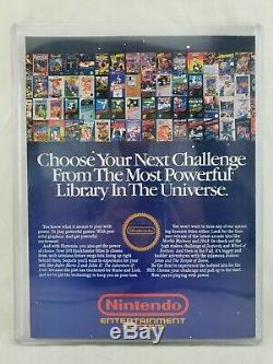 Nintendo Power Magazine Issue 1 complete mailer, club member letter, map poster