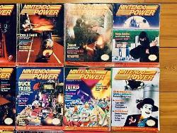 Nintendo Power Magazine Lot Of 14 Magazines 1,2,3,4,5,6,7,8,9,10,11,12,14,15