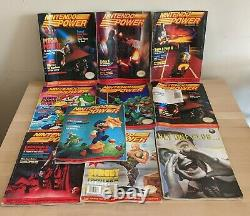 Nintendo Power Magazine lot Issue 1. All have posters