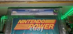 Nintendo Power Vol. 1 July/August 1988 First Issue with Zelda Map Poster graded 6.0