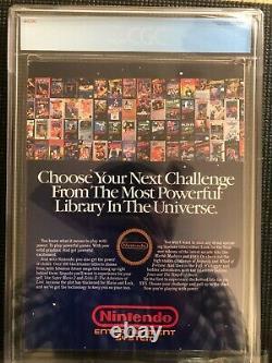 Nintendo Power Volume 1 CGC 8.5 July/August 1988 Free Poster Inside