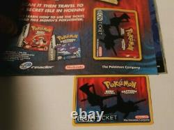 Nintendo Power Volume 173 Pokemon Eon Ticket, Inserts And TMNT Poster Included