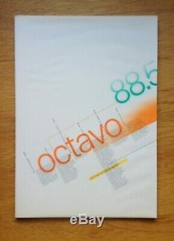 OCTAVO Journal 8VO Typography MINT Cond. Limited Edition Box Set Graphic Design