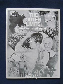 ORIGINAL 2 Vol. COMPLETE SET of OUTER LIMITS AN ILLUSTRATED REVIEW Fan Magazine
