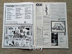 OZ MAGAZINE # 1 with Martin Sharp poster