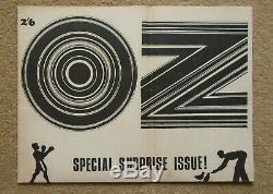 OZ MAGAZINE #5 1967 Plant a Flower Child Martin Sharp poster