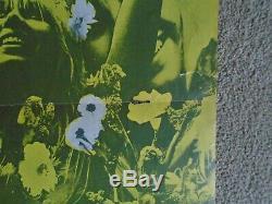 OZ MAGAZINE # 5 Martin Sharp Plant A Flower Child poster