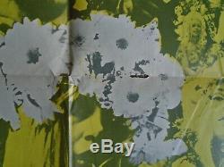 OZ MAGAZINE # 5 Martin Sharp Plant A Flower Child poster yellow