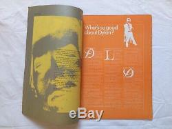 OZ Magazine (ISSUE #07) BOB DYLAN 1967 Blowin' In The Mind (Martin Sharp art)