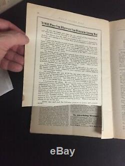 Original October 1919 Napoleon Hill Golden Rule Magazine