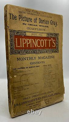 Oscar WILDE / Picture of Dorian Gray in Lippincott's Monthly Magazine July 1st