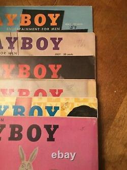 PLAYBOY COLLECTION EVERY ISSUE FROM THE 1950s #1 MARILYN CGC 4.5 #2 CGC 4.0