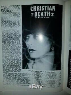PROPAGANDA Goth Music Magazine #19 The Cure, Christian Death, This Mortal Coil