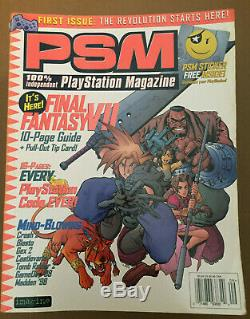 PSM 100% Playstation Magazine Lot of 16 Back-Issues