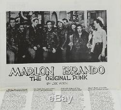 PUNK Magazine Issue # 1 1976 by John Holmstrom LOU REED New York Ramones