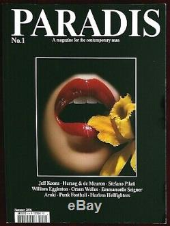 Paradis Magazine First Issue No. 1, 2006 Emmanuelle Seigner Sante D'Orazio