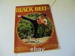Perfect-kick Bruce Lee Pre-death, Vintage 1971 Black Belt Magazine, Jkd, Kung-fu